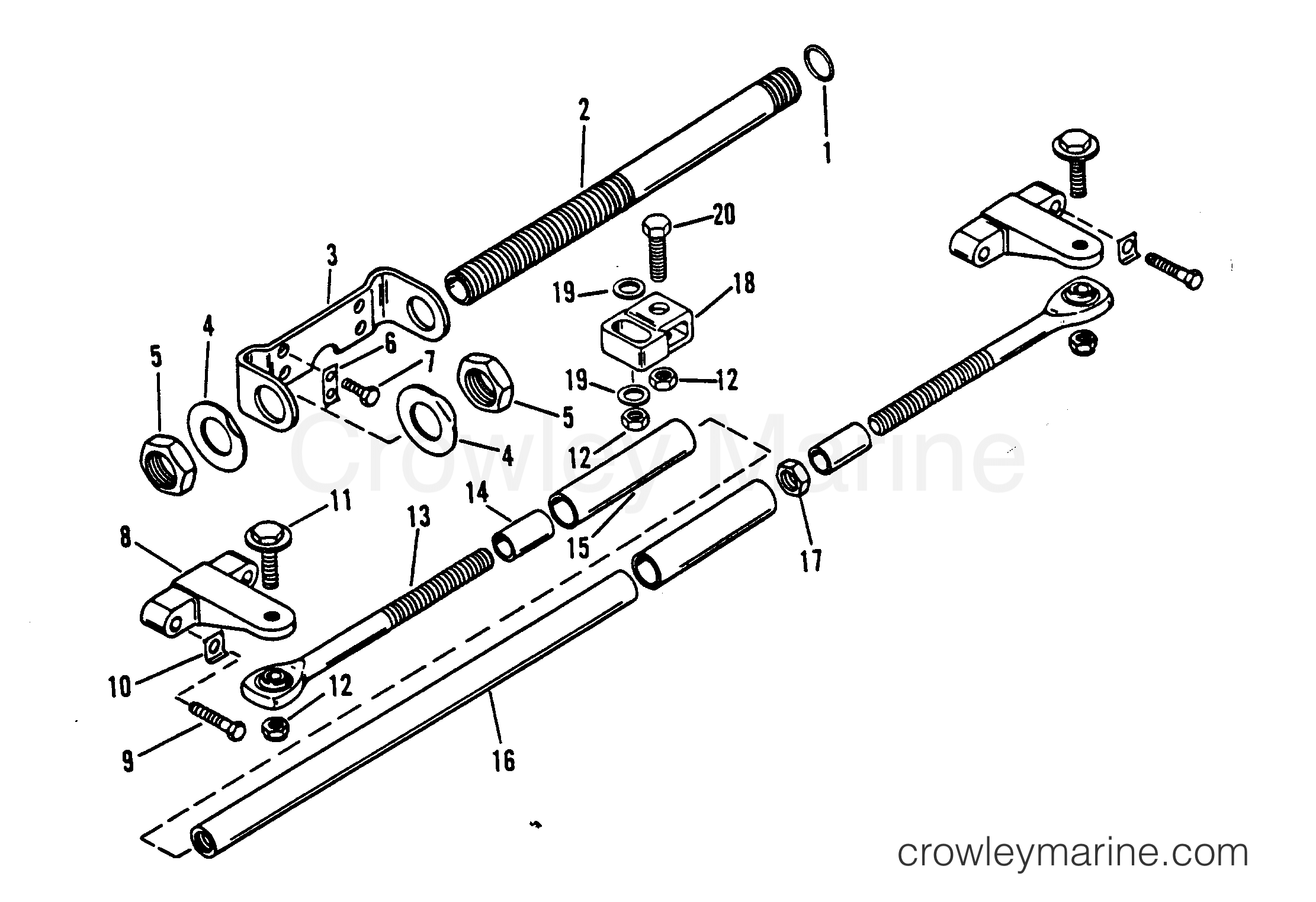 Dual Engine Extension Kit Counter Rotation Design Ii