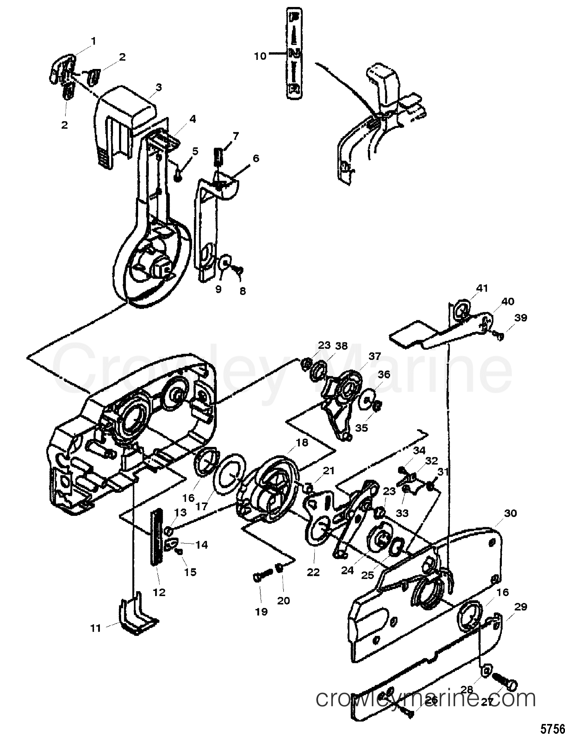Quicksilver Remote Control Parts Diagram Engine Wiring