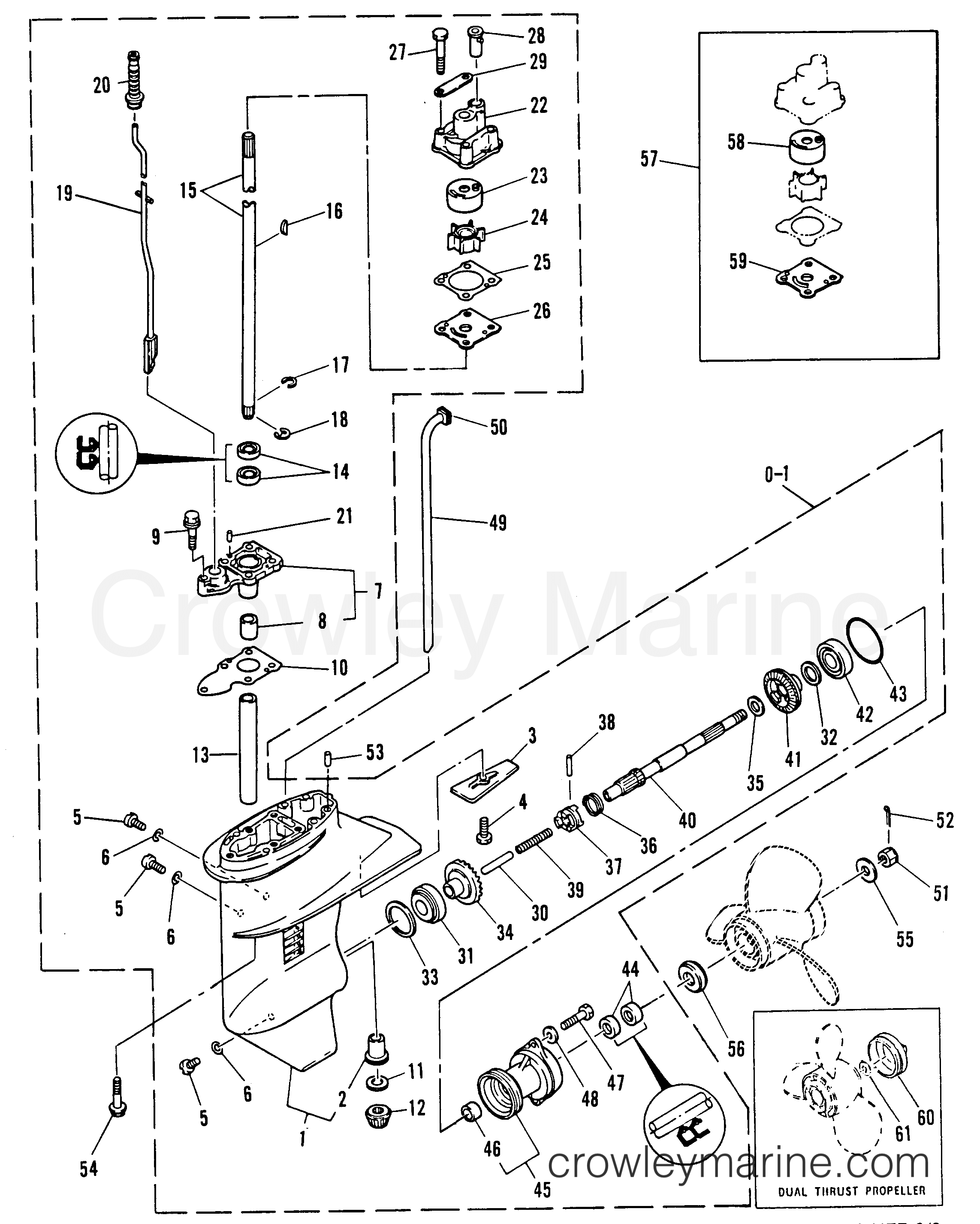 Gearhousing Assembly