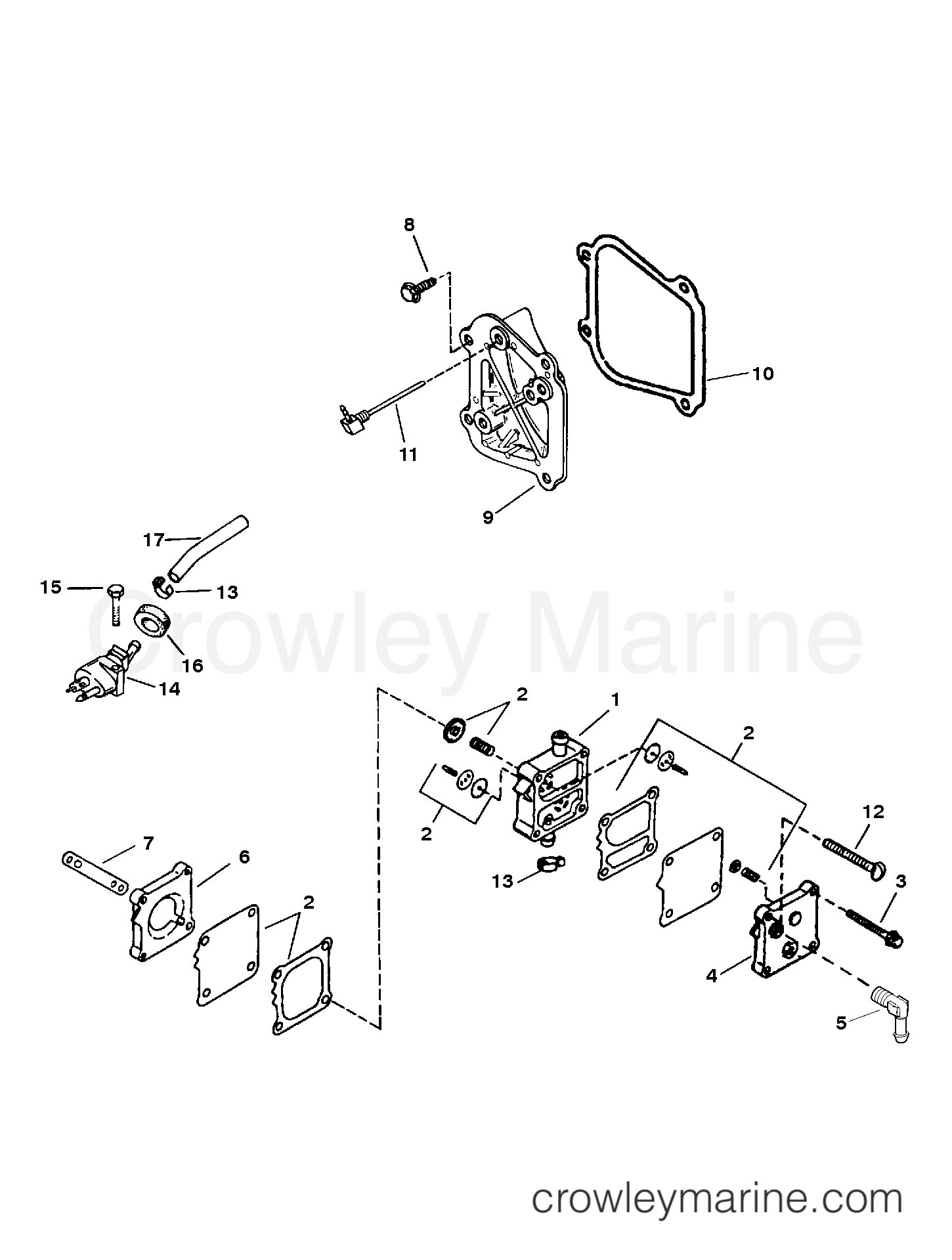 Fuel Pump Assembly And Components
