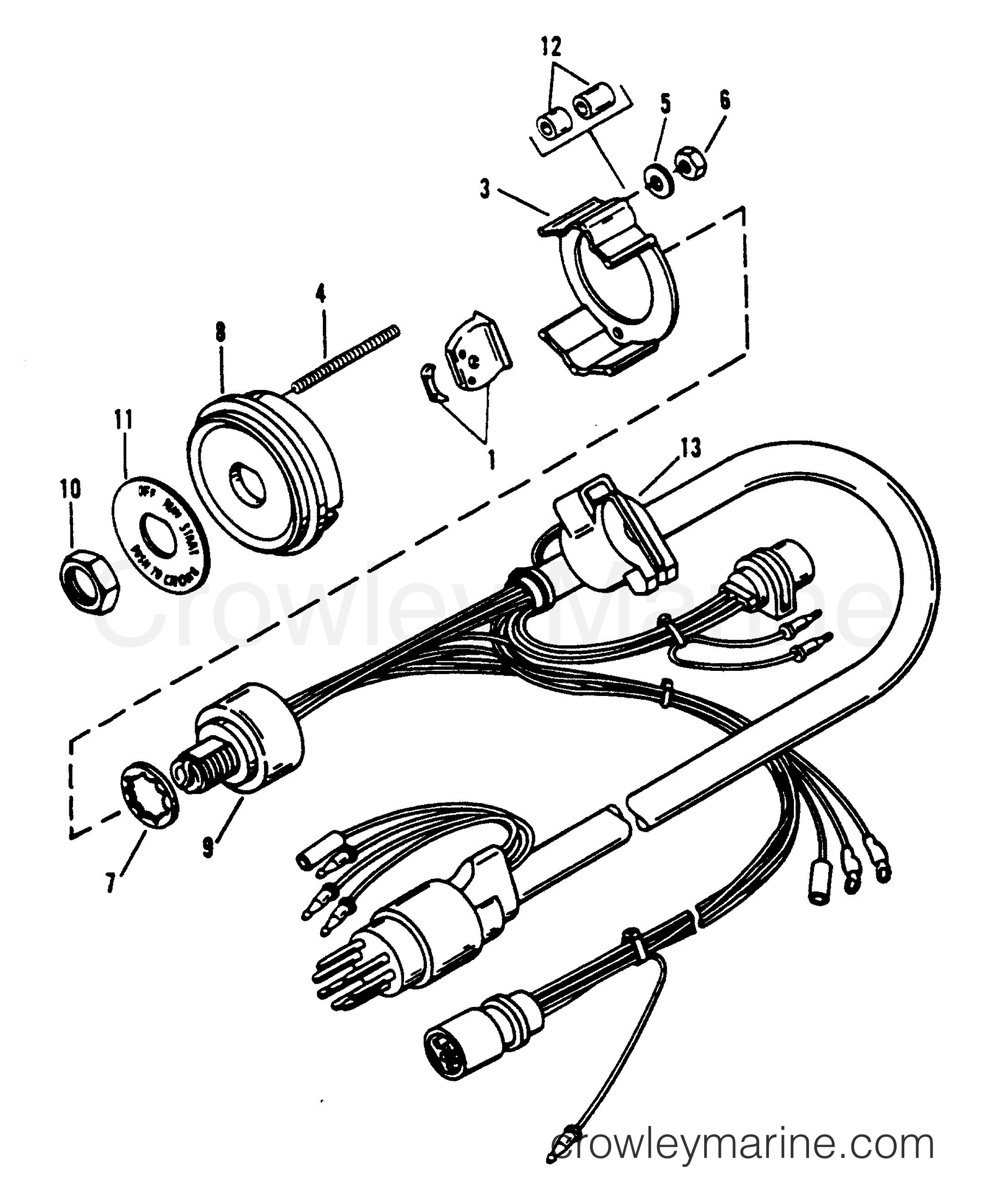 Key Switch Assembly