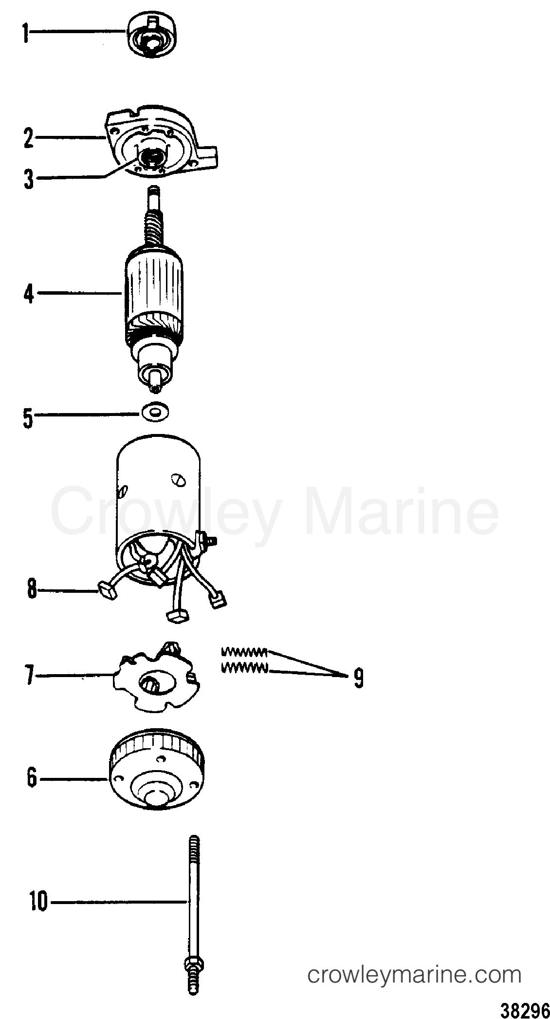 Starter Motor Assembly Prestolite