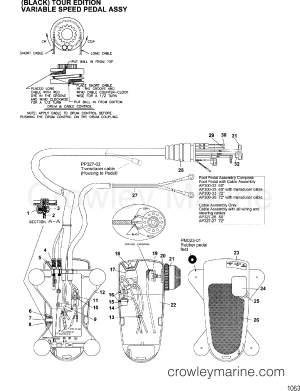FOOT PEDAL ASSEMBLY(MAP300322  332  352  362)  2001