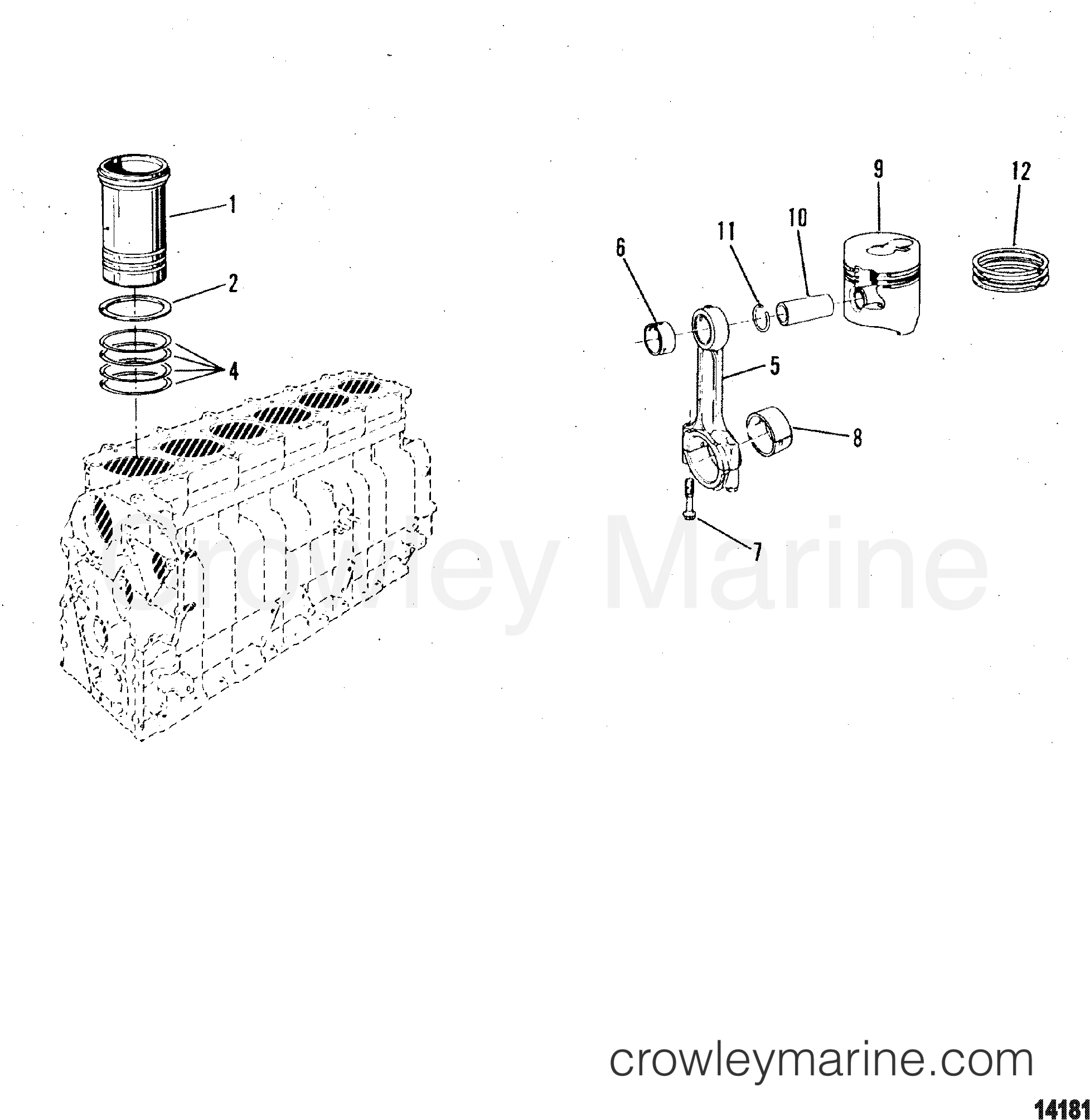 Connecting Rod And Piston