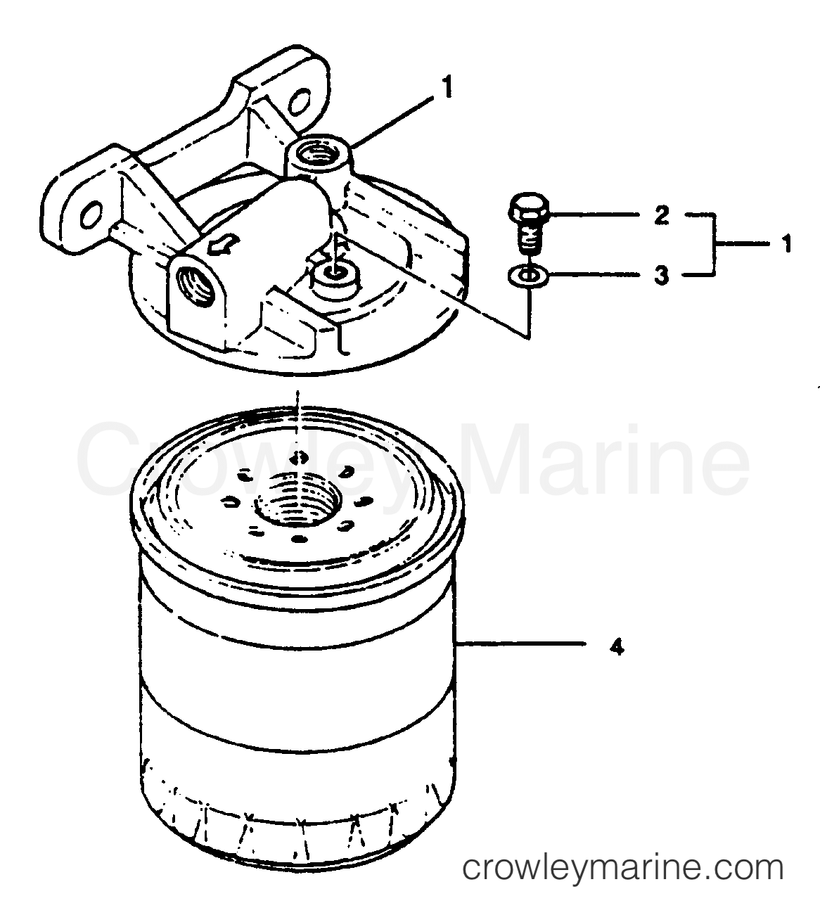 Fuel Filter Base Assembly