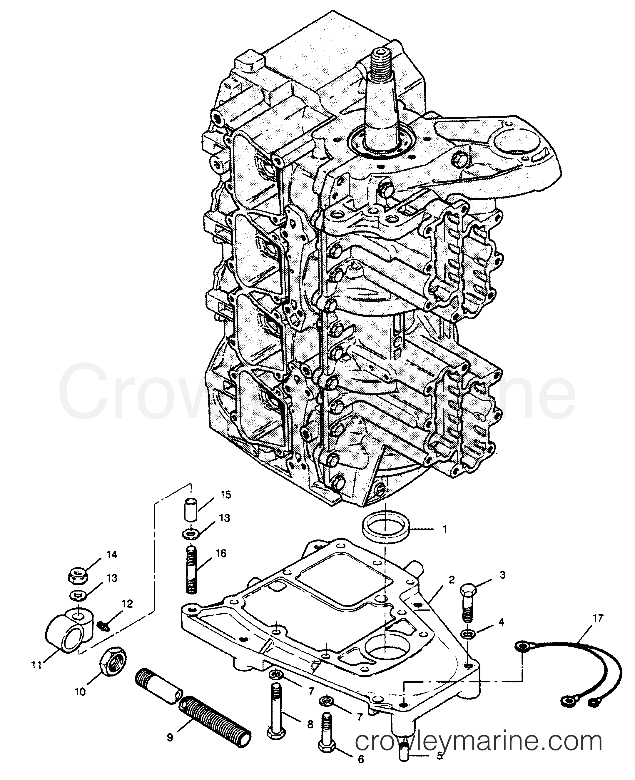 Spacer Plate And Steering Tube