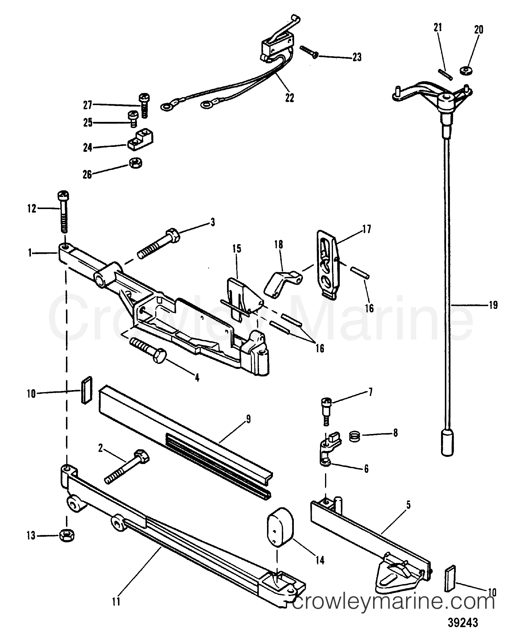 Shift Control Linkage