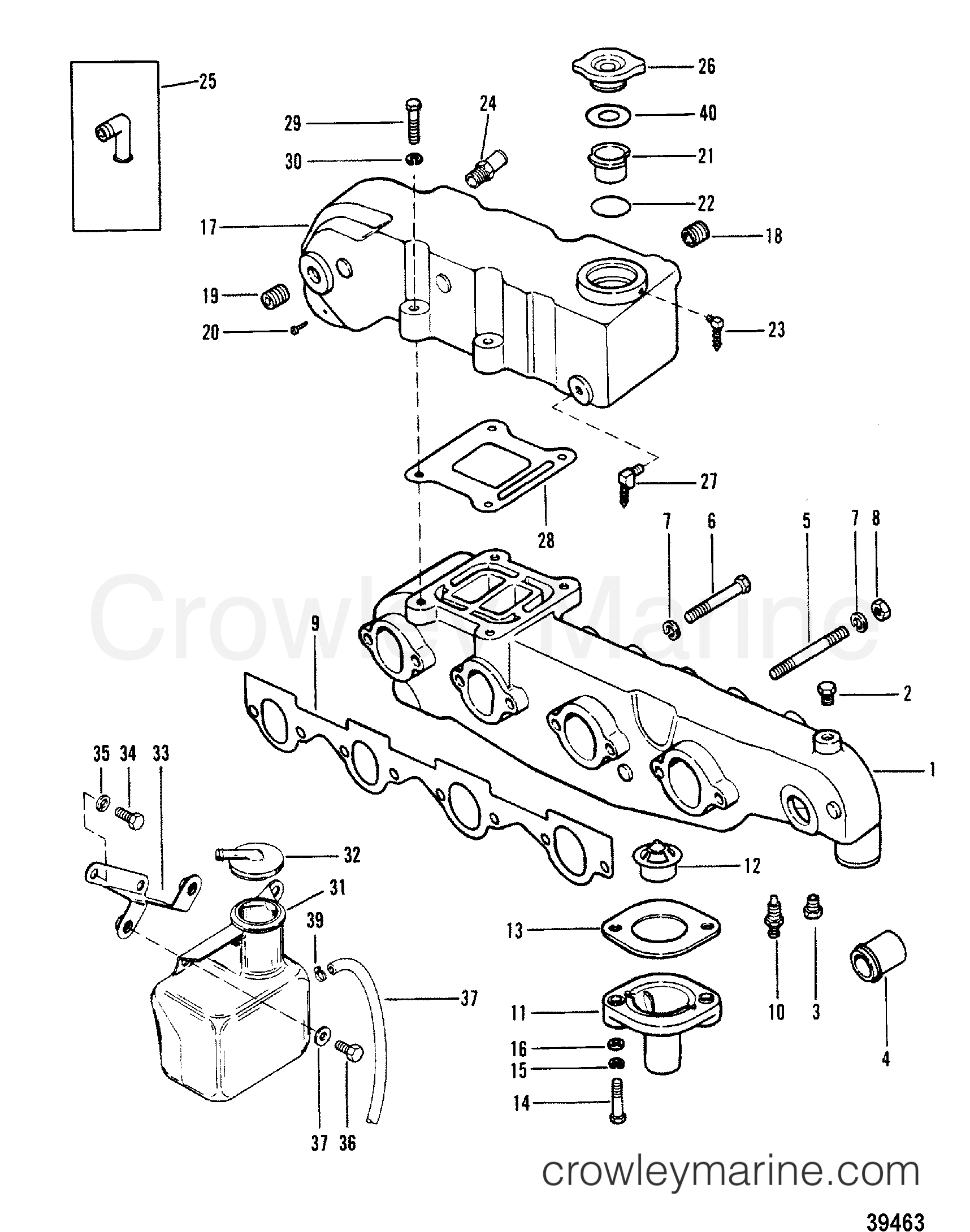 Exhaust Manifold And Exhaust Elbow Cast Iron
