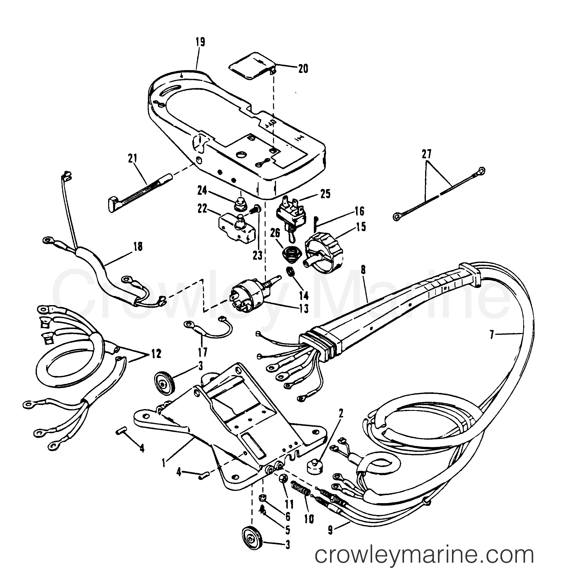 Wiring Harness And Foot Plate Rc