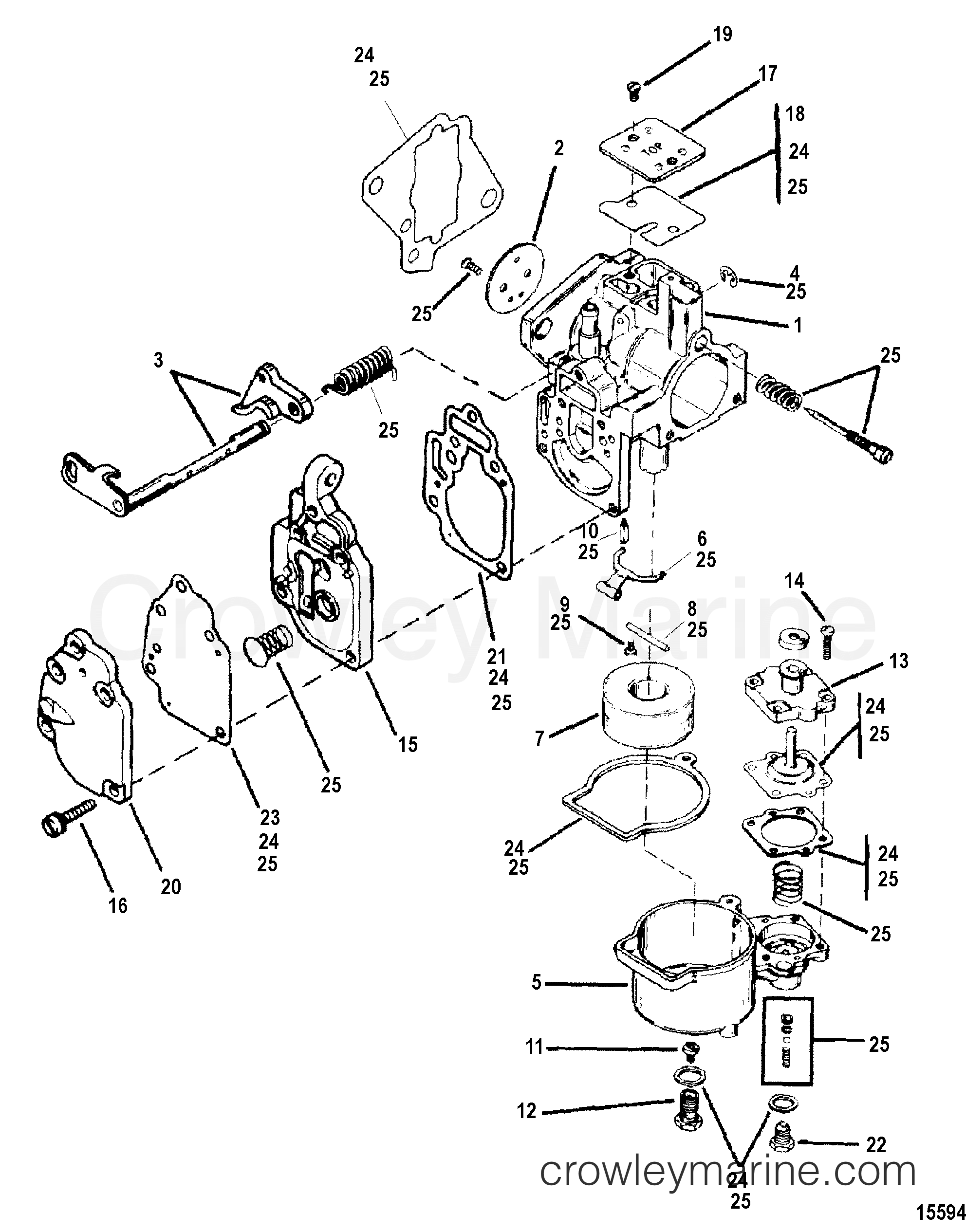 Old Keihin Carburetor Diagram