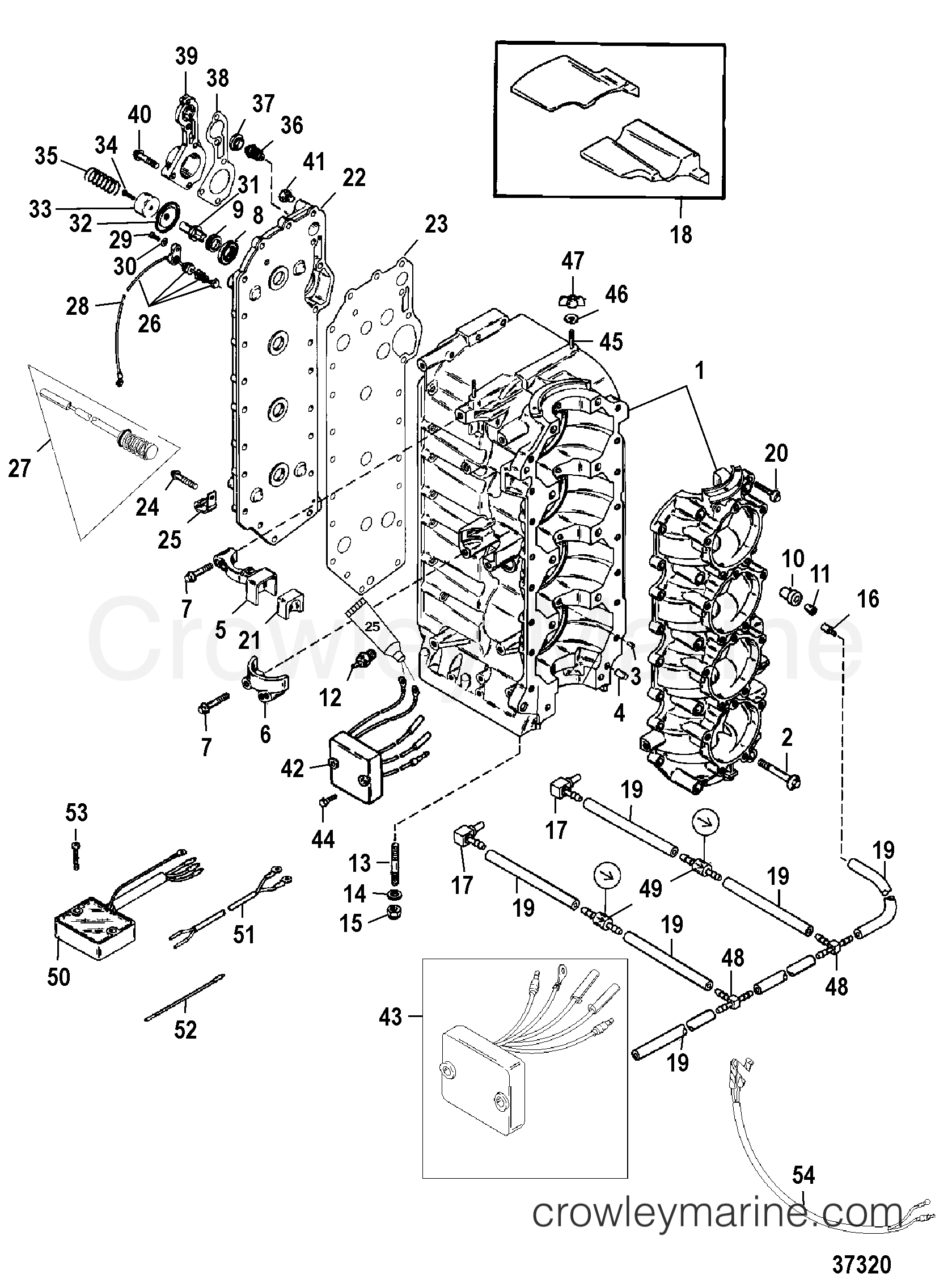 Cylinder Block And Crankcase