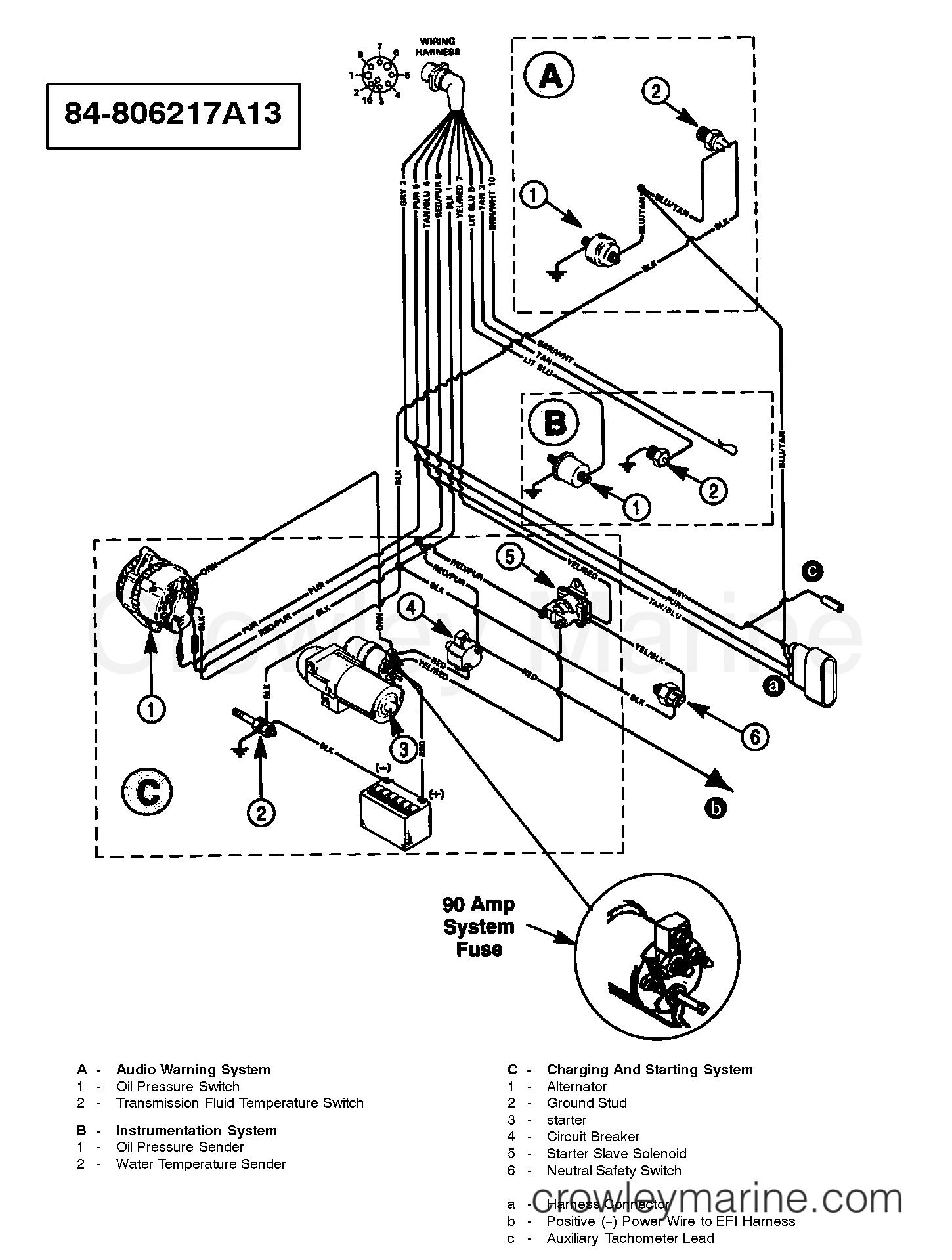 Mercury 350 Wiring Diagram