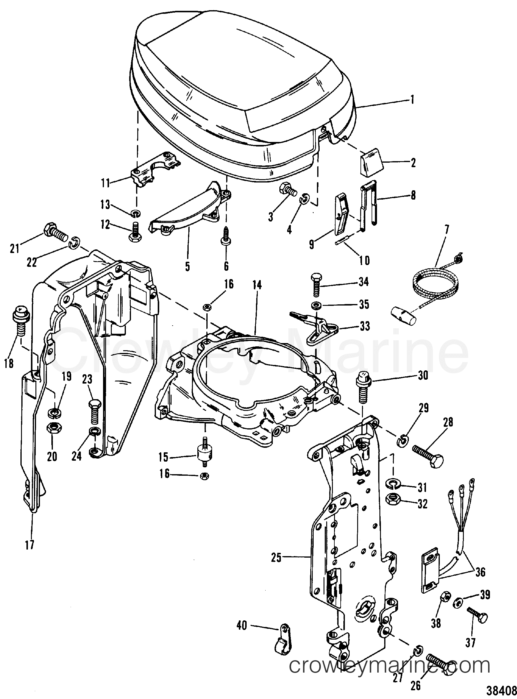 Mercury 150 Hp Outboard Wiring Diagram