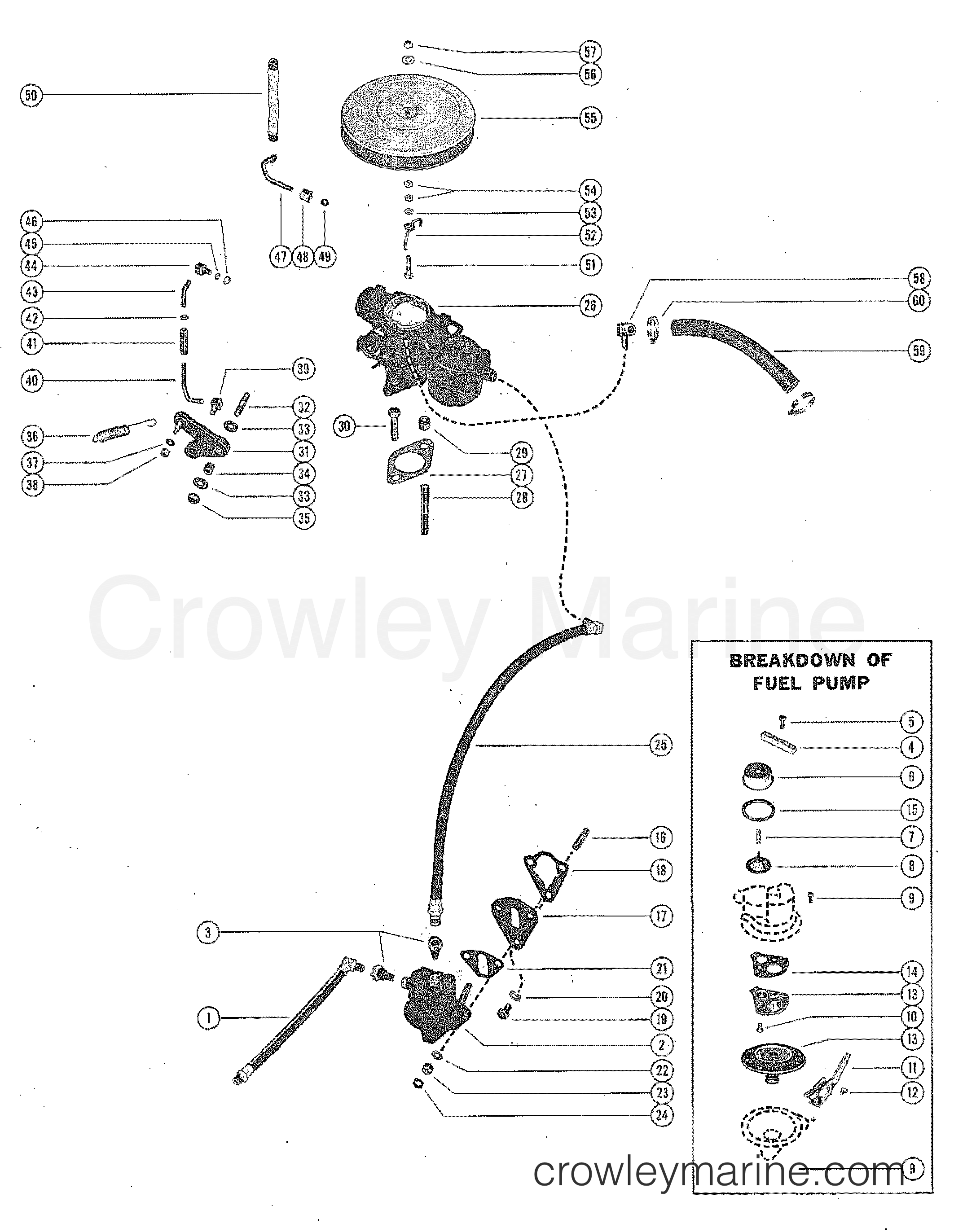 Renault Fuel Pump Diagram
