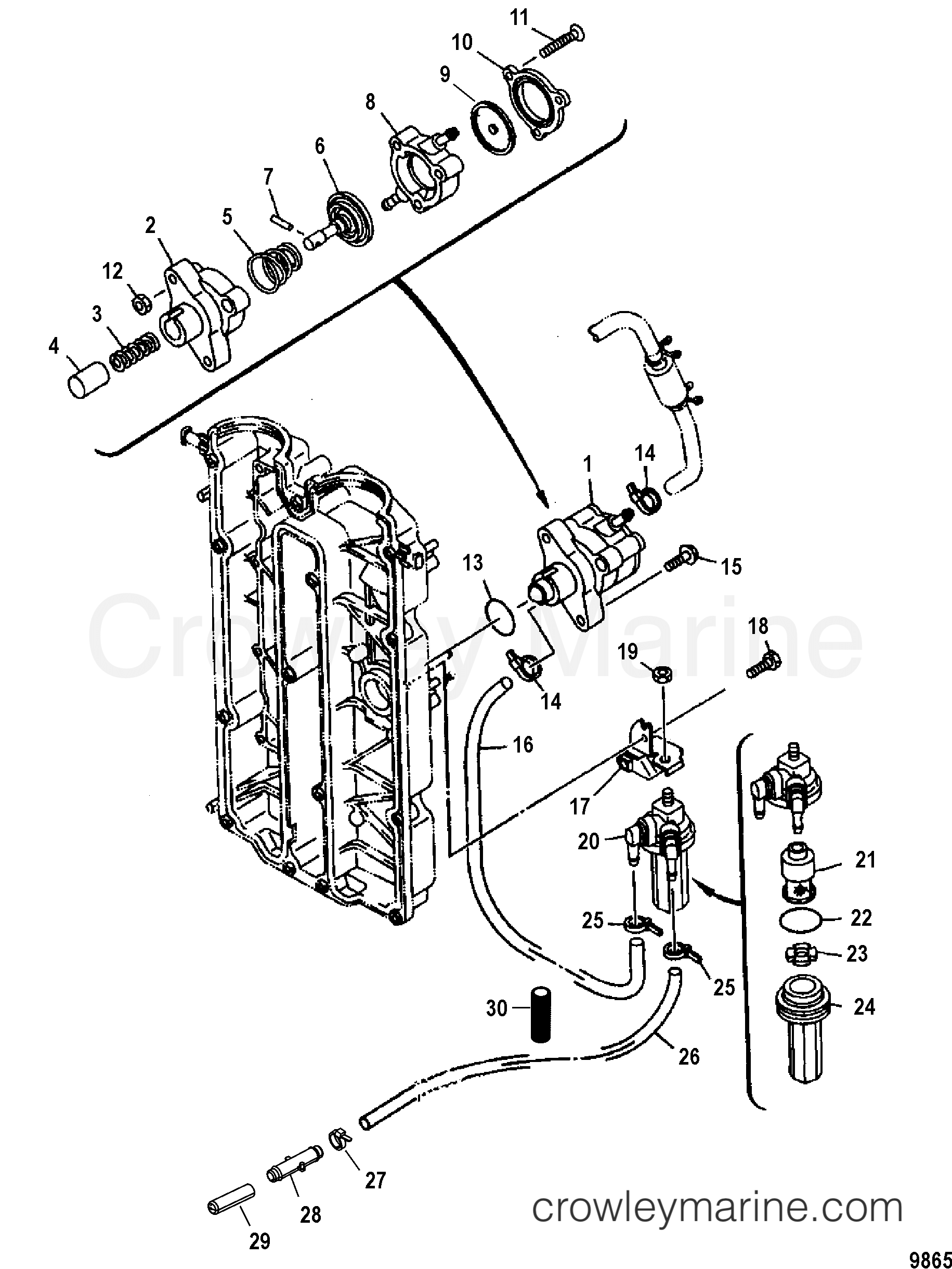 Mercury Mr52 Wiring Diagram
