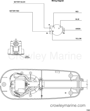 WIRE DIAGRAM(MODEL T34) (WITHOUT QUICK CONNECT)  2008
