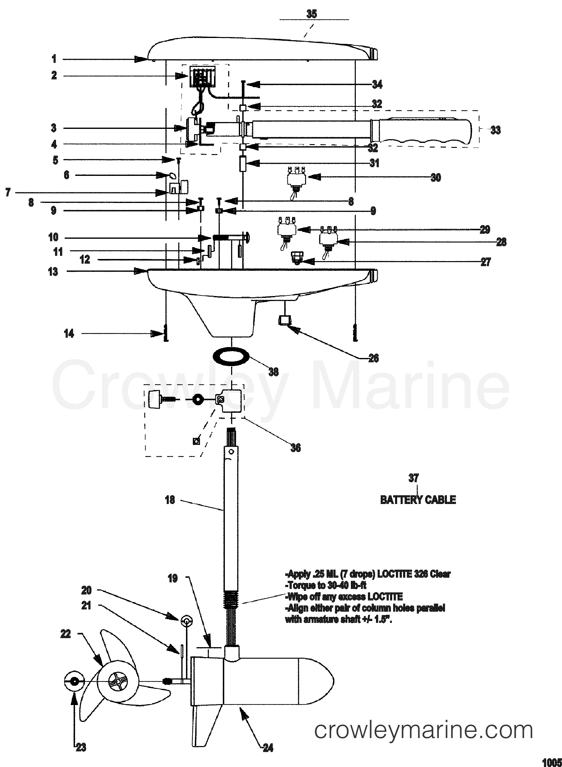 Diagram 12 24v Trolling Motor Plug Wiring Diagram Full