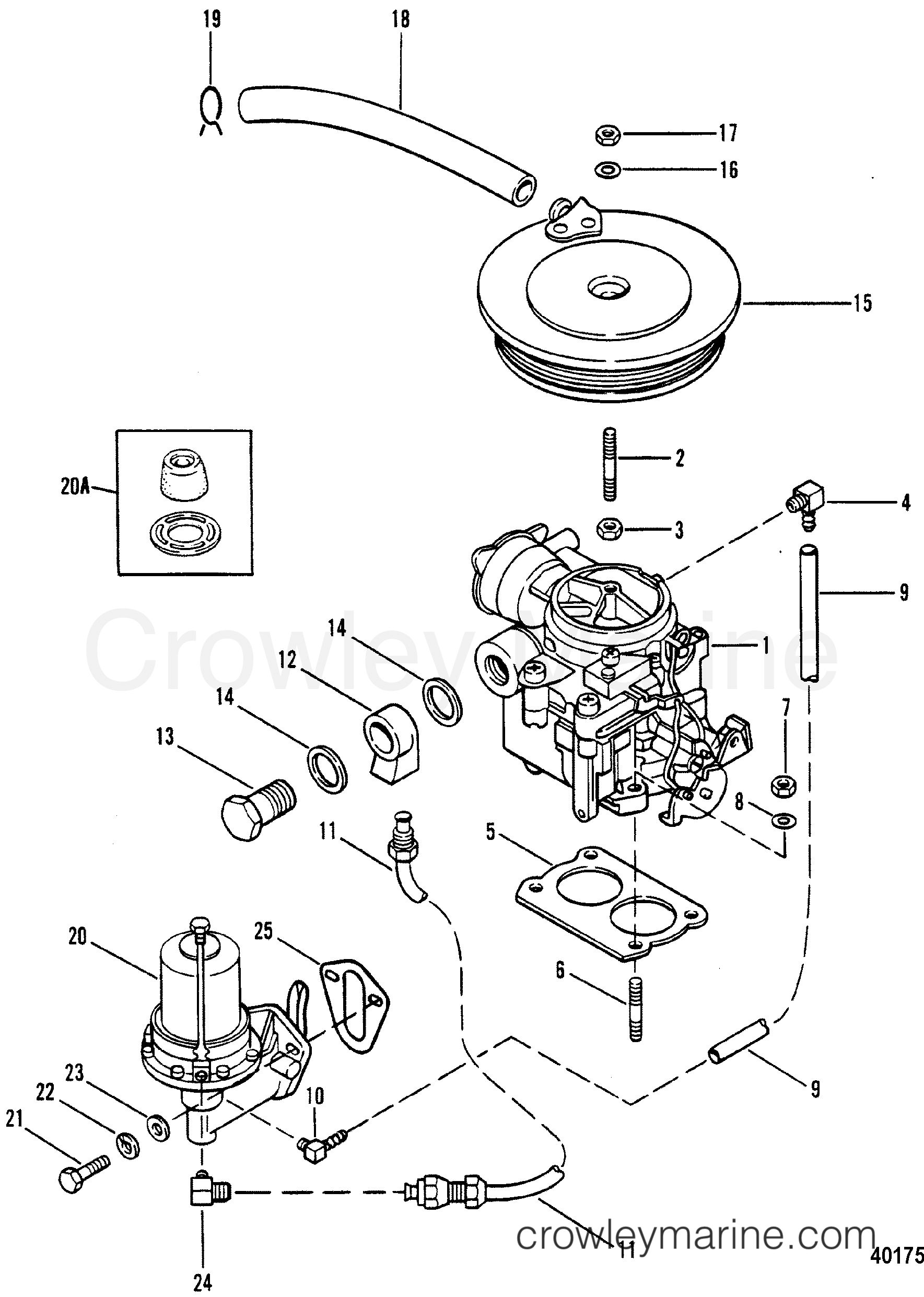 Carburetor And Fuel Pump