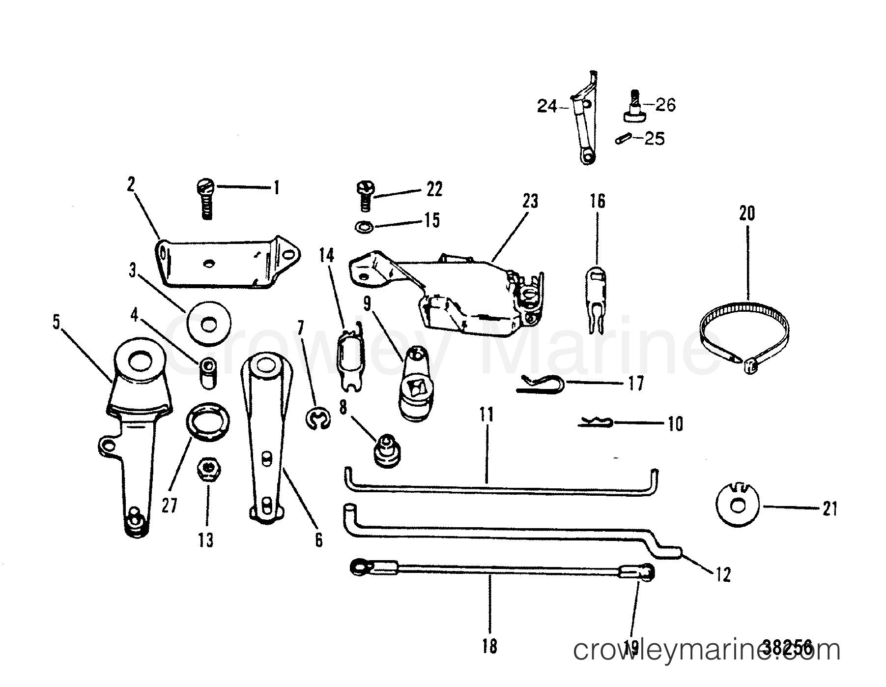Remote Control Attaching Components