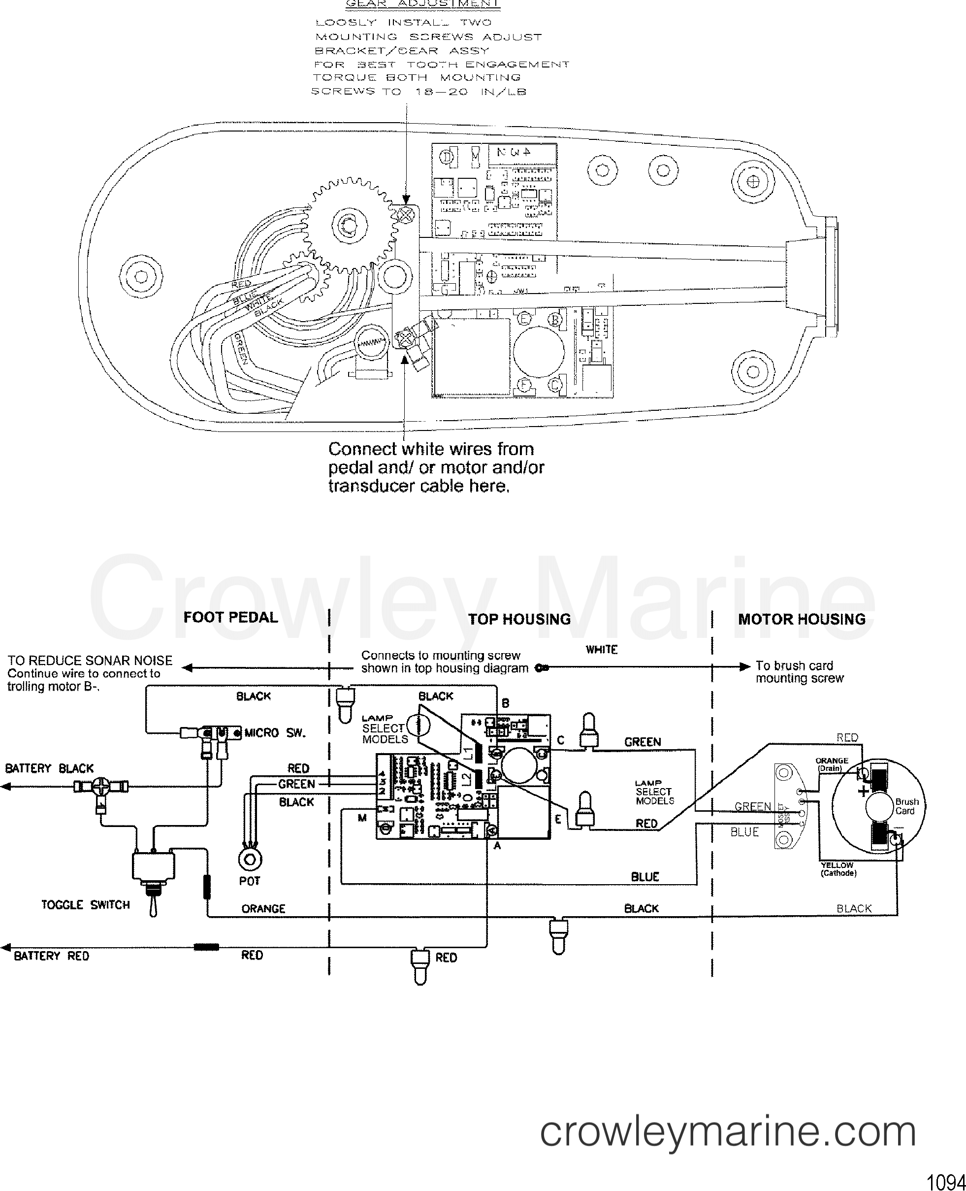 Fluorescent Lamp Ballast Wiring Diagram