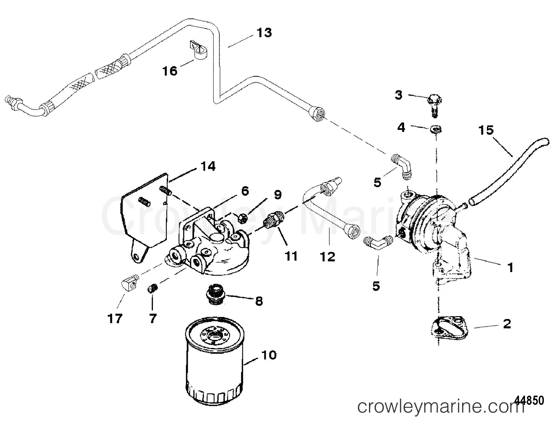 Yamaha G1 Fuel System Diagram