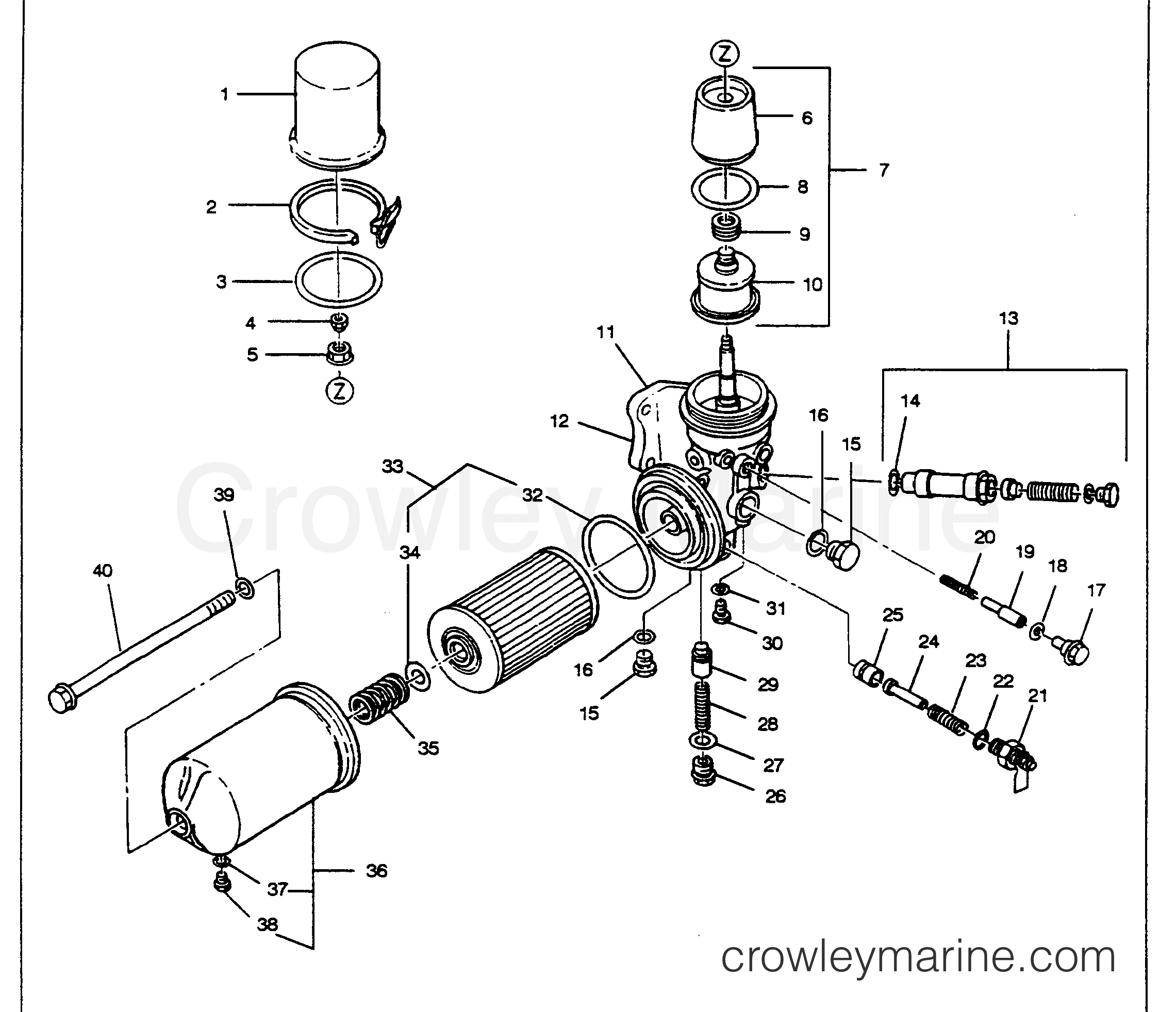 Oil Filter Assembly Figure 1 E3