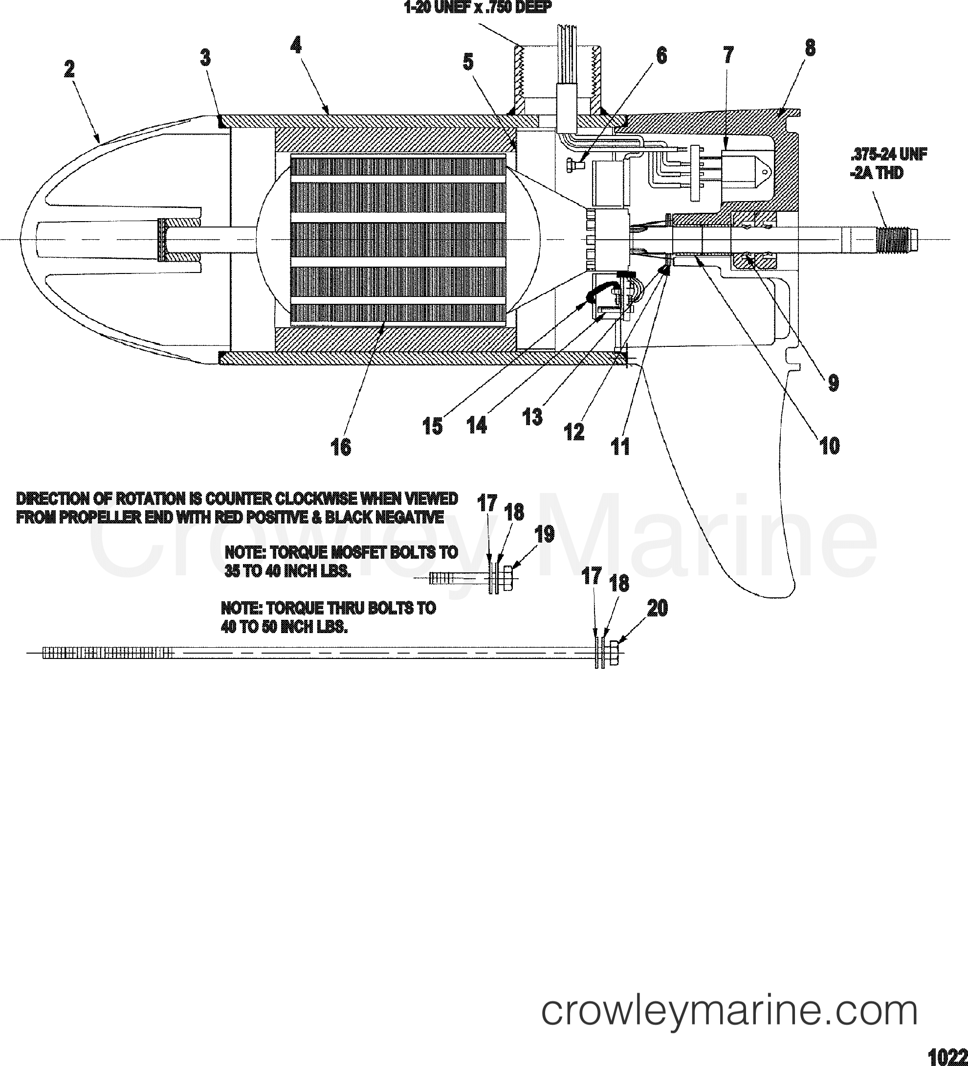 Lower Unit Assembly 109