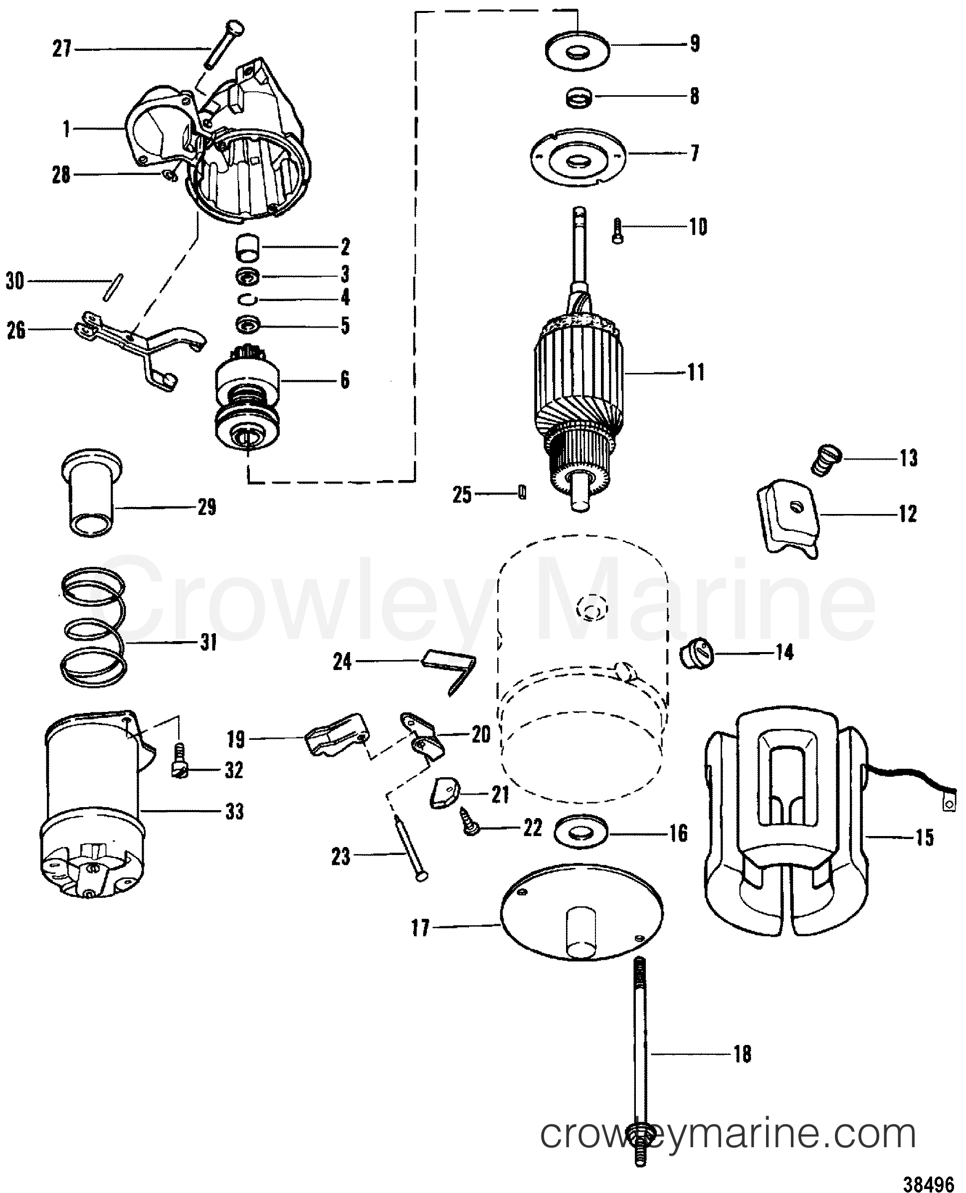 Starter Motor Use With 14 Flywheel