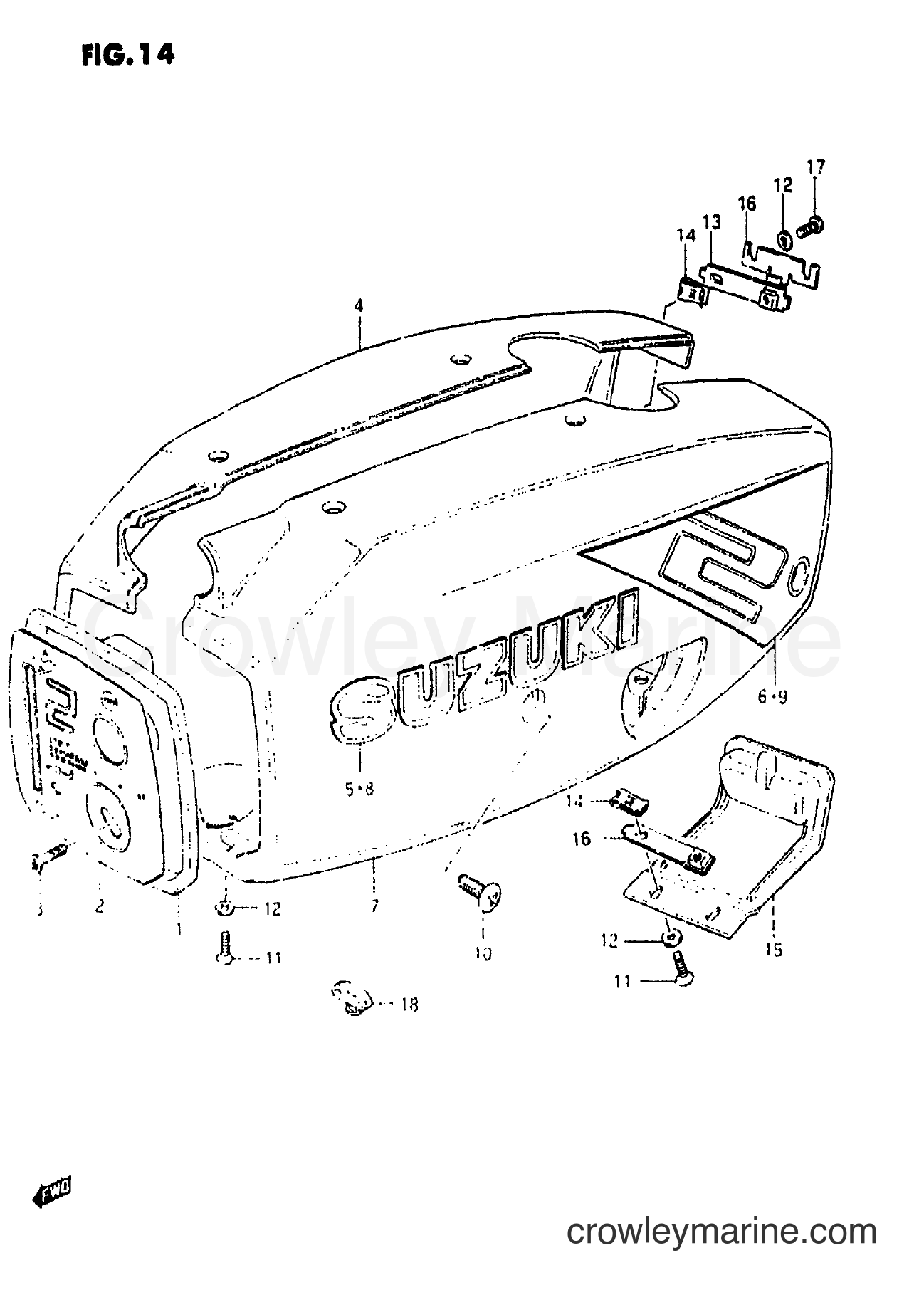 Engine Cover Model 86
