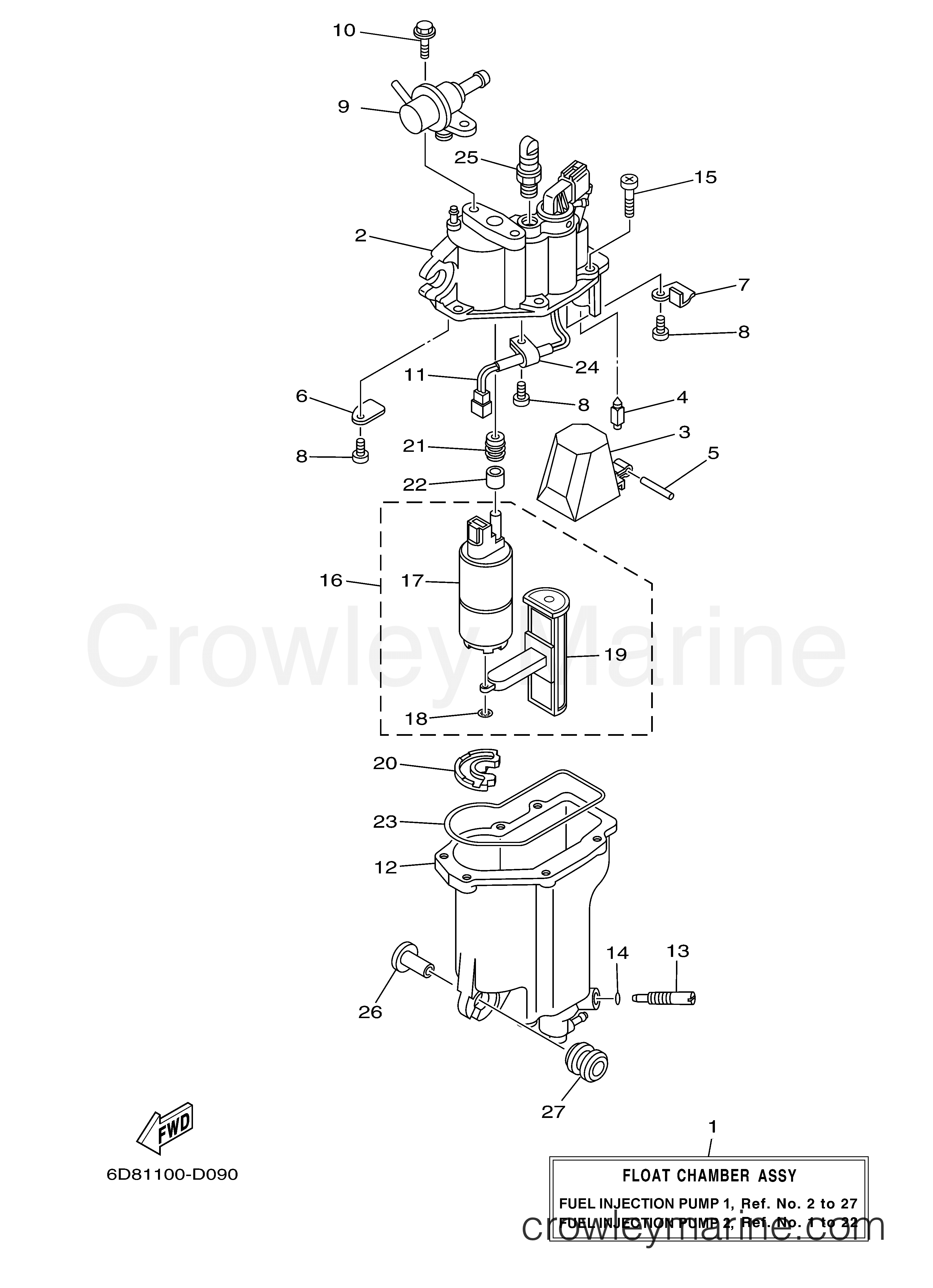 Yamaha Outboard Engine Diagram F50tlra