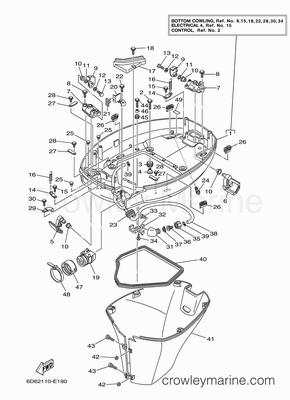 2005 Yamaha Outboard 90hp [F90TLR]  Parts Lookup