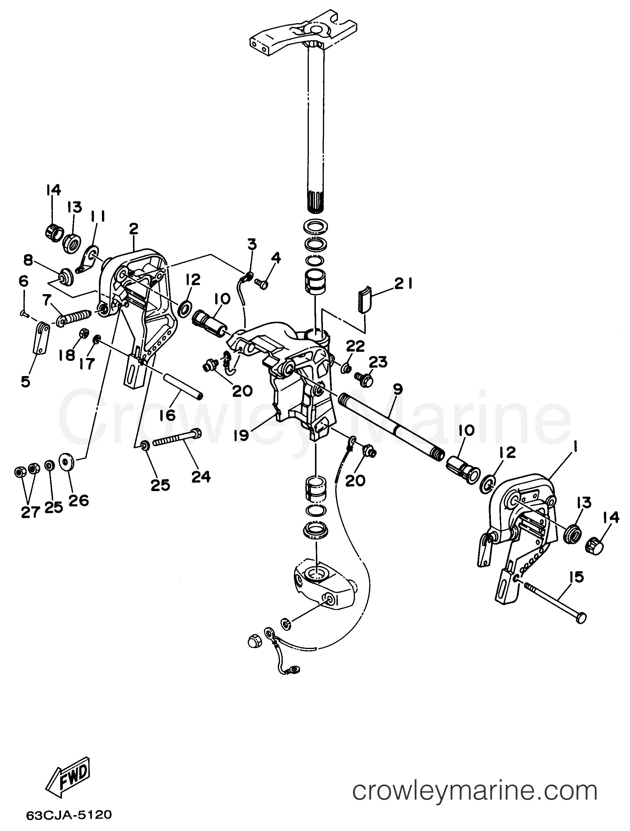 Bracket 2 Manual Tilt