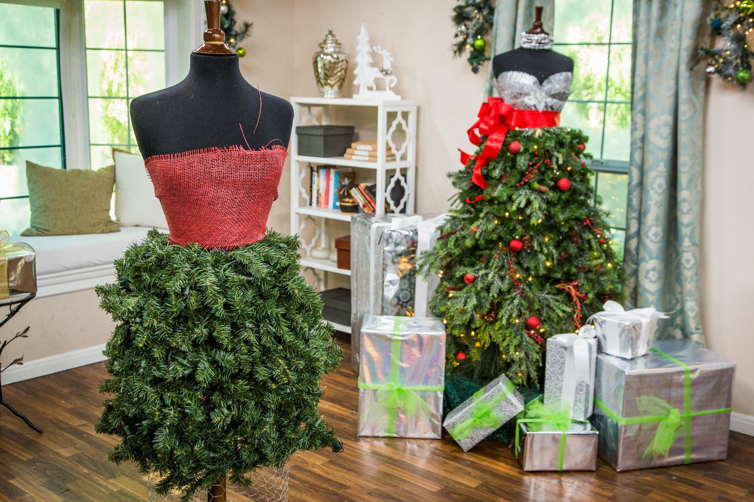 How To - DIY Christmas Ornament Dress