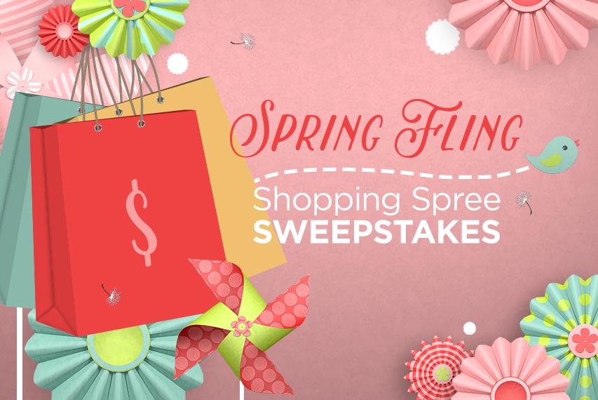 Spring Fling Shopping Spree Sweepstakes Spring Fling