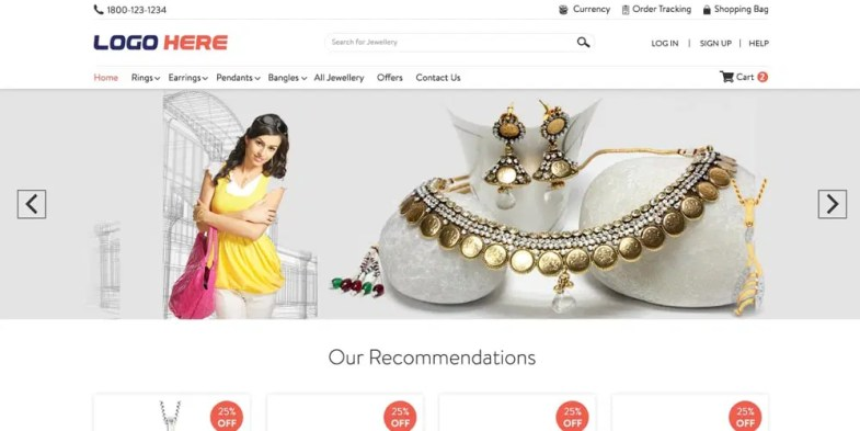 Online Jewelry Store Template PSD Бесплатные шаблоны для интернет-магазина psd - Online Jewelry Store Template PSD - Бесплатные шаблоны для интернет-магазина PSD