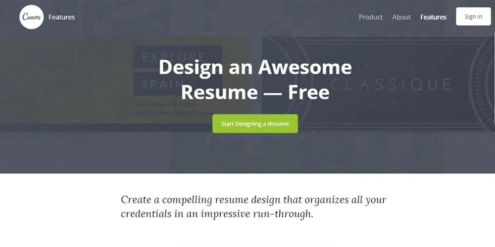 Best Professional Online Resume Builders      CSS Author Canva Resume Builder