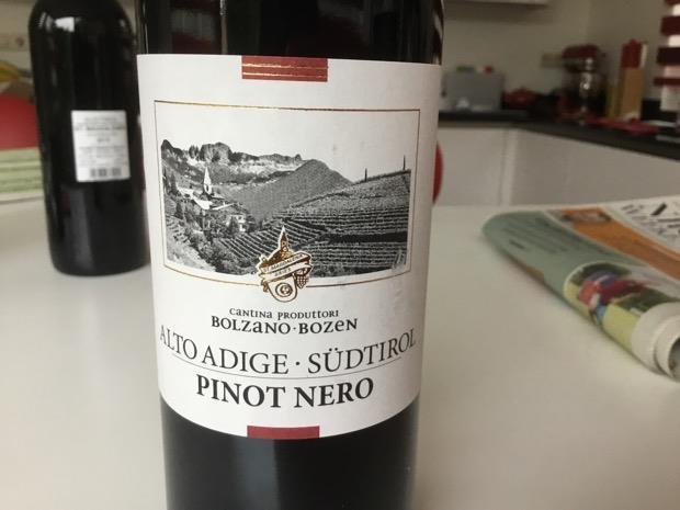 2016 Cantina Produttori Bolzano Alto Adige Südtirol Italy