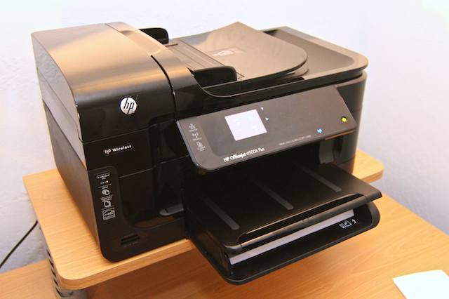 Hp Officejet 6500a Plus Printer Packs A Potent Pro Punch