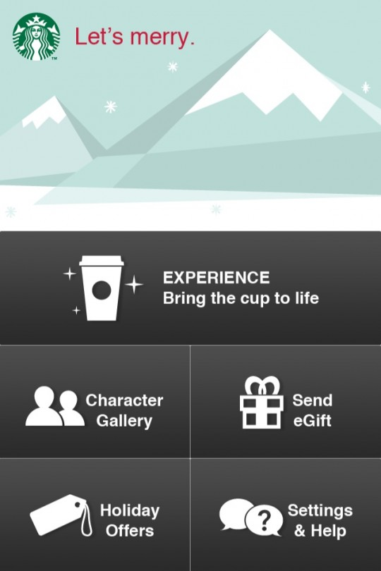 Starbucks New Holiday IPhone App Gives You Special Offers