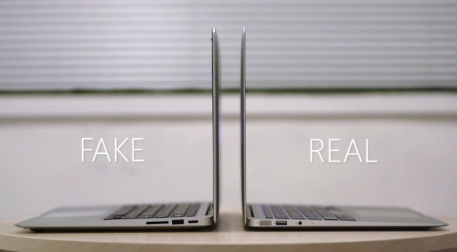 This Chinese Macbook Air Ripoff Would Probably Fool Jony Ive Cult Of Mac