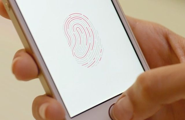 Touch ID is ready for an upgrade. Photo: Apple