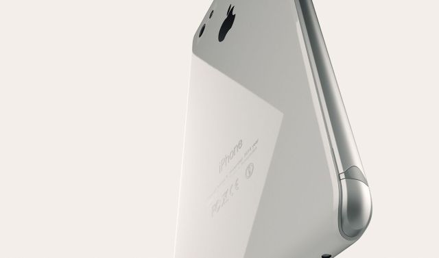 White iPhone 8 concept. Photo: Steel Drake