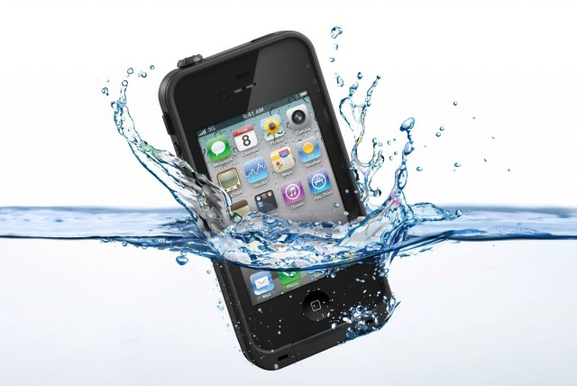 Water way to test your iPhone!