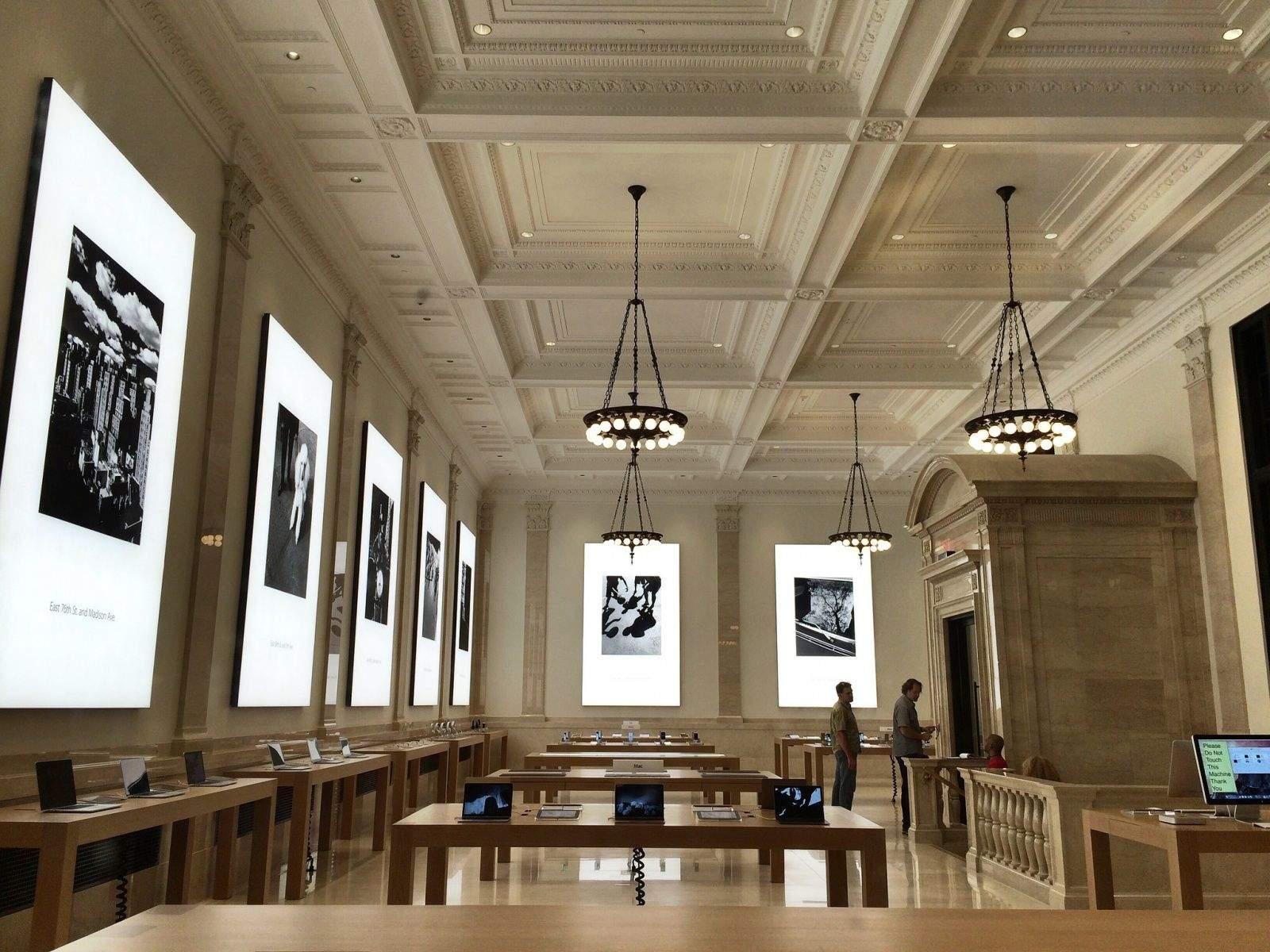 Peek Inside The Apple Store Upper East Side