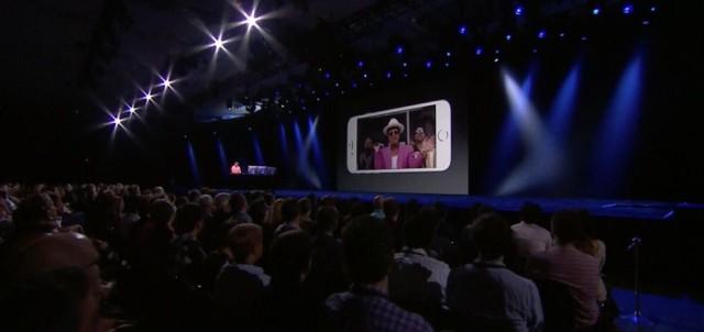 Eddy Cue demos Apple Music at WWDC 2015.