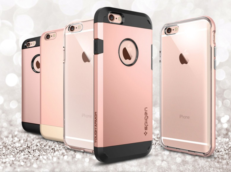 Things are looking rosy for accessory manufacturers, like Spigen, ready to provide cases for the iPhone 6s.