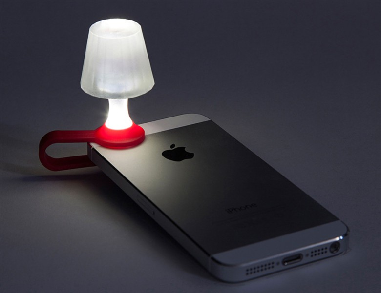 Your iPhone and flashlight app can create a cozy ambiance for reading.
