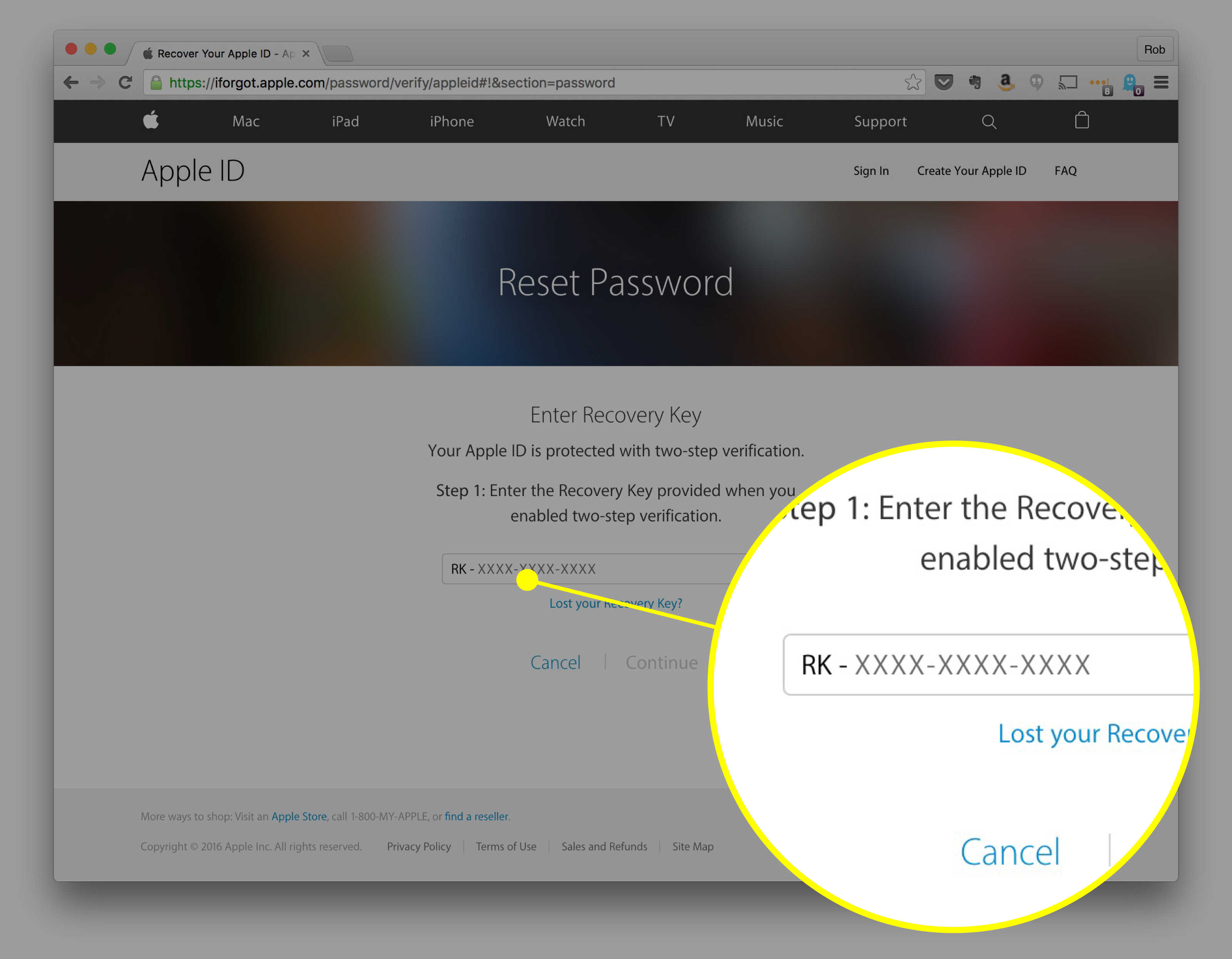 How to reset your Apple ID password   Cult of Mac Sure hope you saved this bit of information