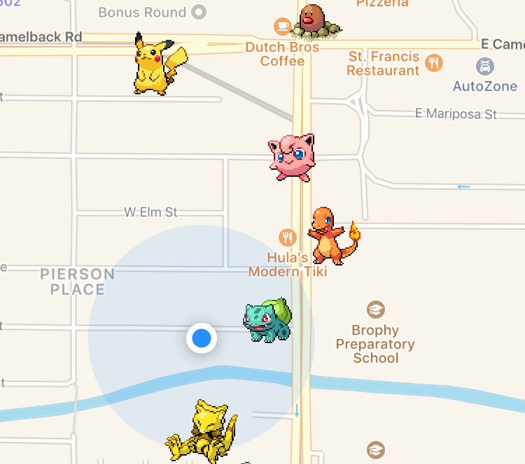poke radar screen shot