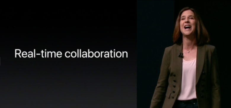 Real-time collaboration iWork